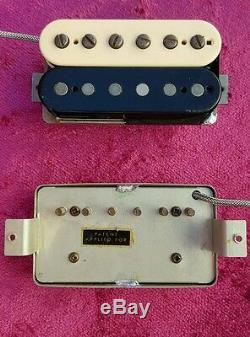 1959 clone P. A. F. Pickup set for new or vintage Les Paul or other Gibsons