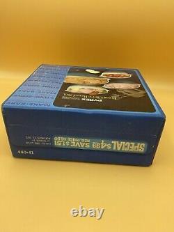 1971 Vintage NIB Pyrex Ware 4 pc. Bowl Set Horizon Blue, Cinderella #440-41