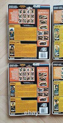 1988 &1989 Vintage Gi Joe Night Force Complete Set Sealed New Afa Ready