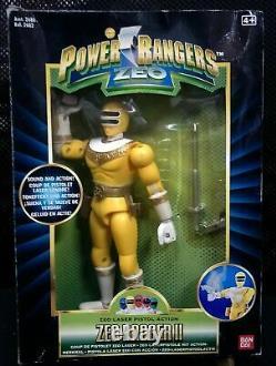 1996 Vintage Mighty Morphin Power Rangers Zeo Complete Set of 6 figures