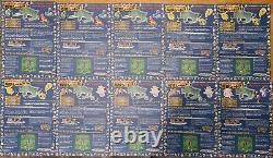 A Full Set of Vintage 1998 Japanese Pokemon Vending Series 1 (All 18 Sheets)