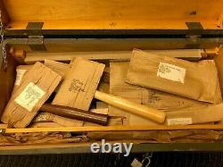 ANTIQUE Vintage Tool Set Lot Woodworking Carpentry Tools USA