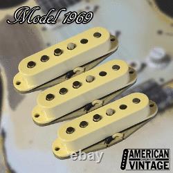 American Vintage Model 1969 Fender Stratocaster Replacement Pickup Set