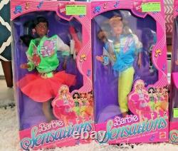 Barbie And The Sensations Doll Lot ALL 4 Complete set 1987