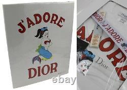 CHRISTIAN DIOR Rare Vintage J'Adore Dior Mermaid Tee Accessories Folder Set BNIP
