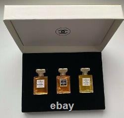Chanel NO 5 NO 19 COCO EAU DE PARFUM set 3x 8 ml VINTAGE
