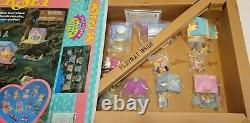 Complete 2 set Polly Pocket Pollyville 1995 SuperSets Sealed EXTREMELY RARE