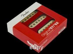 Genuine American Fender Strat Reissue Original 57/62 Vintage Pickup Set USA NEW
