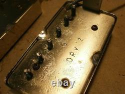 Humbucker Pickup SET Dry Z By Q pickups Vintage Guitar SG LP JV Greco EGF LP