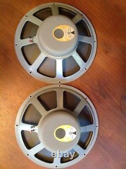 Jbl D130 Matched Set Of Highest Quality- 15, 16 Ohm, Rare Vintage Speakers