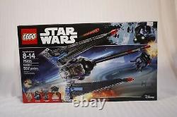 LEGO Star Wars 75185 Tracker 1 Emperor Palpatine NEW Factory Sealed (Retired)