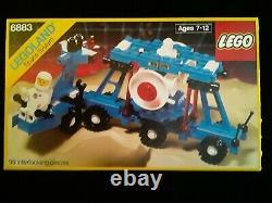 Lego 6883 Space System NIP sealed vintage mint Legoland 1987
