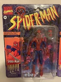 Marvel Legends 6 2020 Spider-Man Retro Vintage Gwen Stacey 2x Lot Set Sealed