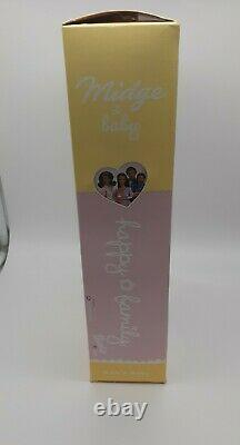 Midge Baby Happy Family AA African Pregnant Barbie Doll Set 2002 MATTEL 56664
