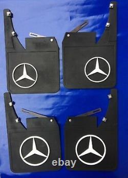 Mud Flaps Splash guard Set Fits For Classic vtg Mercedes W114, W115, W116 W123