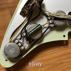 NEW Seymour Duncan SSL-1 Vintage Staggered Mint Green Set Loaded Strat Pickguard