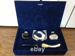NEW Vintage Halston Limited 5pc Gift Set Mens Fragrance Cologne Aftershave Razor