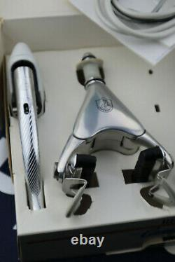 NOS NIB Campagnolo C Record Delta Brake Calipers Levers SET + tool Vintage Rare