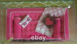 NRFB Barbie Jonathan Adler 50th Anniversary Sofa Happy Chic Gift Set Pink