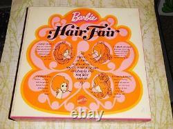 NRFB MINT Barbie Vintage HAIR FAIR Set Brunette 2nd Version IOB