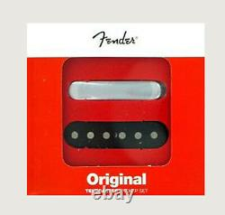 New Fender Original Vintage Tele Telecaster Pickup Set of 2 USA Made 52 RI