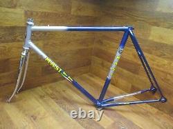 Nos Vintage Masi Gran Corsa Lugged Steel Frame Set 56cm