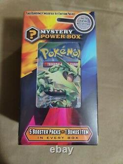 Pokemon Mystery Power Box Vintage Pack 1st Edition Chance Base Set CHARIZARD