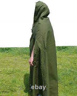 Polish Army Military TENT Set x2 Person Vintage Half Poncho Shelter Tarp Size 1