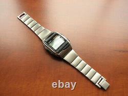 RARE NEW Vintage 1998 NOS CASIO HBX-100 complette LCD wrist computer watch set