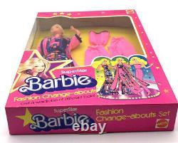 Rare NOS Vintage 1978 Rare Superstar Barbie Fashion Change-Abouts Set