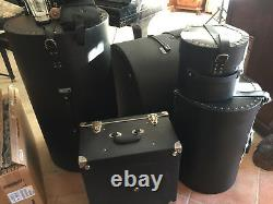 SALE! Original LUDWIG made in USA 7Pce Drum Kit Set New Skin Road Cases Gosford