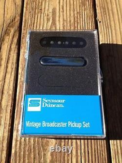 Seymour Duncan Vintage Broadcaster Pickup Set Fender Tele Telecaster STL-1S NEW