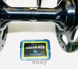 Shimano Dura Ace Black Edition High Flange Hub Set First Generation Vintage NOS