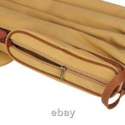 Tourbon Sunday Golf Bag Vintage Canvas Golf Stand Carry Bag f Mens Golf Club Set