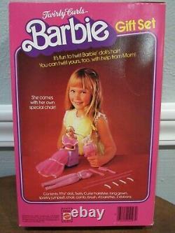 Vintage 1982 Barbie Superstar Era Twirly Curls Gift Set #4097 Nib Sealed