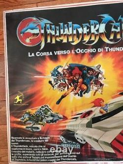 Vintage 1983 Tyco Thundercats Electric Racing Car Set Made In Italy New Lion-O