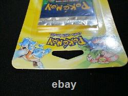 Vintage 1999 WOTC Pokemon Base Set Blister Booster Pack SEALED Venusaur
