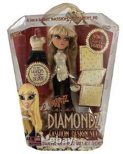 Vintage 2006 Bratz Forever Diamondz Fashion Design Set Vinessa Doll MGA NRFB New
