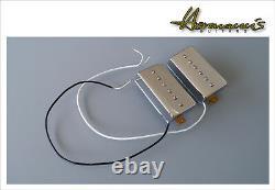 Vintage 60s AlnicoV P90 Pick Up Set im Humbucker Format, handgewickelt, Topsound