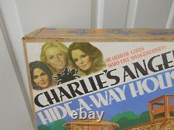 Vintage Hasbro Charlies Angels Hide-a-way House Play set New in Box NIB Mego