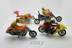 Vintage Hotwheels RRRumblers COMPLETE SET OF 16 (Boneshaker, D. Deuce, Eagle, +++)