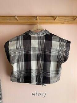 Vintage PLANTATION Issey Miyake Deadstock NWT NEW skirt vest top dress SET Japan