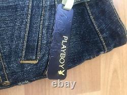 Vintage Playboy Corset And Mini Skirt Set