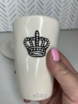 Vintage Rae Dunn Crown Breakfast Set HTF Rare