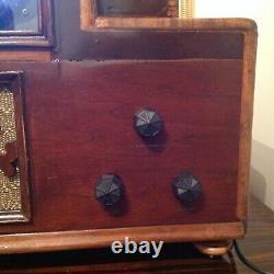 Vintage Retro Early Prewar Television Set Reproduction Circa 1930 7 B&W Screen