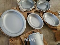 Vintage U. S. Military Officers Field Tableware Outfit Mess Kit Set Royal Us