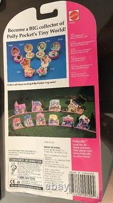 Vtg Polly Pocket Bathing Beauty Pageant and ring set Bluebird Toys Sealed NEW